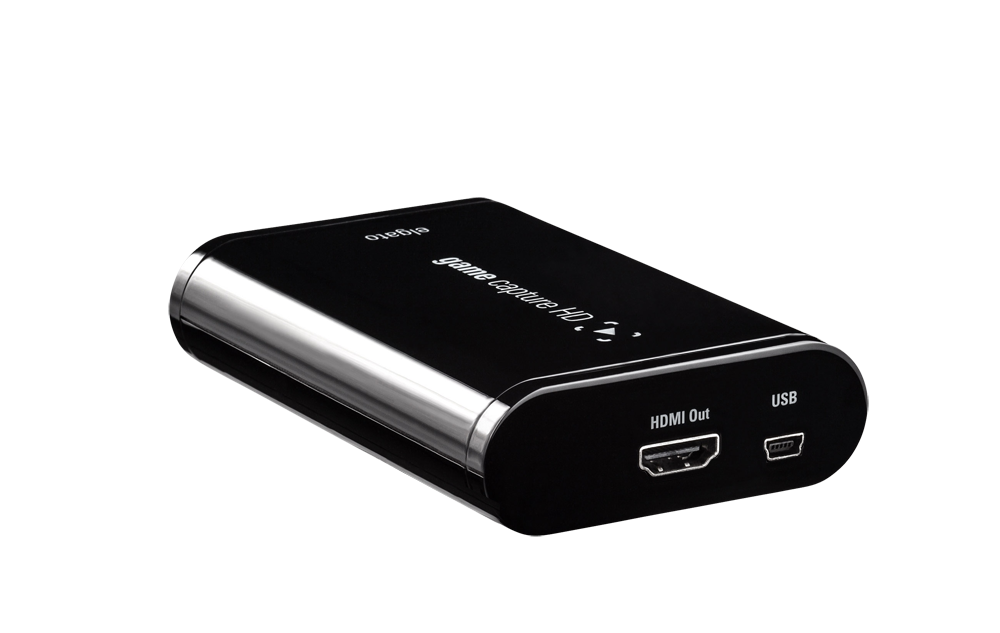 Elgato Game Capture HD, HDMI Out + USB