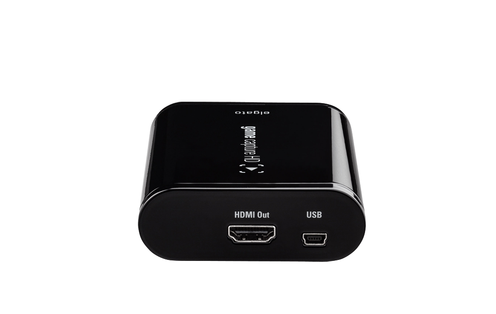 Elgato Game Capture HD, HDMI Out + USB (3, Front)